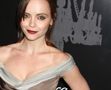 Christina Ricci in Carolina Herrera at the UNICEF Snowflake Ball