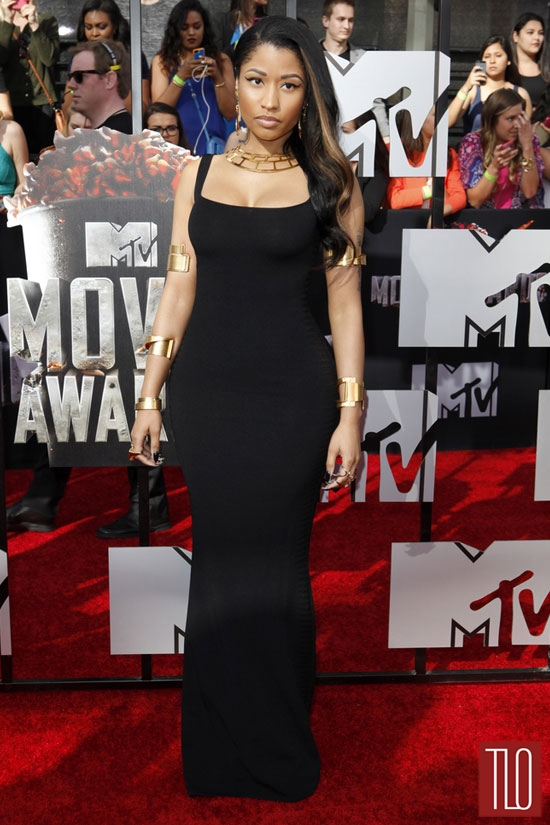 Nicki-Minaj-MTV-Movie-AWards-2014-Alexander-McQueen-Tom-Lorenzo-Site-TLO (2)