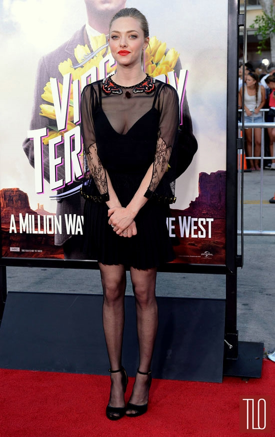 Amanda Seyfried In Givenchy At The Quot A Million Ways To Die