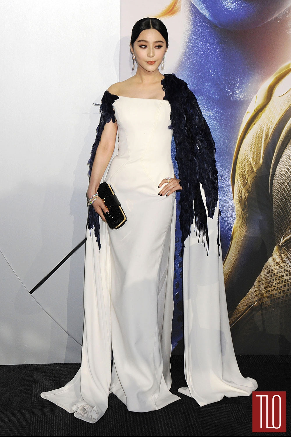 fan bingbing in georges chakra couture at the x men days of future