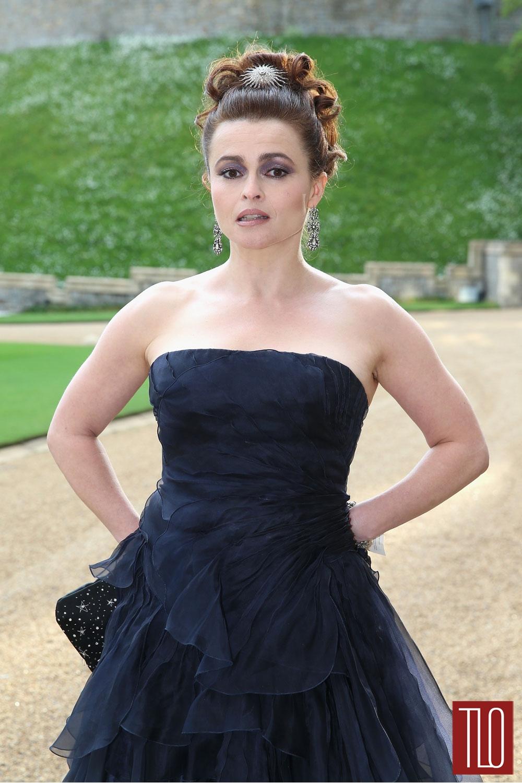 Helena Bonham Carter In Ralph Lauren At The Royal Marsden
