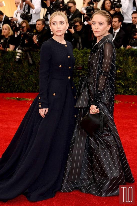 Mary-Kate-Olsen-Vintage Chanel-Ashley Olsen-Vintage-Gianfranco-Ferré--2014-Met-Gala-Tom-Lorenzo-Site-TLO