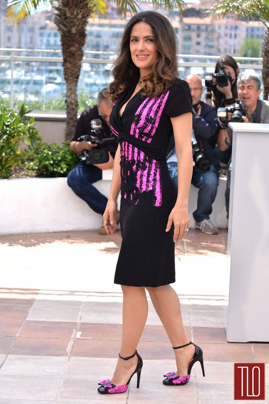 Salma-Hayek-Saint-Laurent-Bottega-Venetta-Cannes-2014-Tom-Lorenzo-Site-TLO (4)