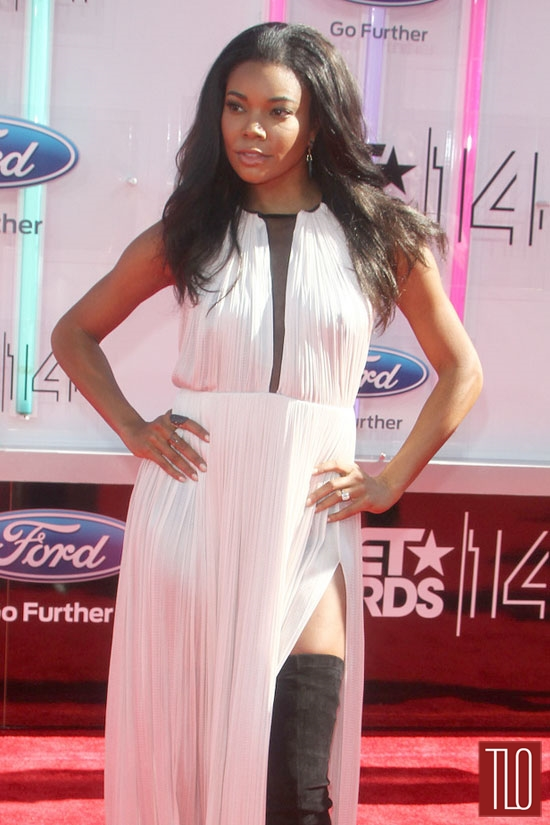 Gabrielle Union in Maria Lucia Hohan at the 2014 BET ...