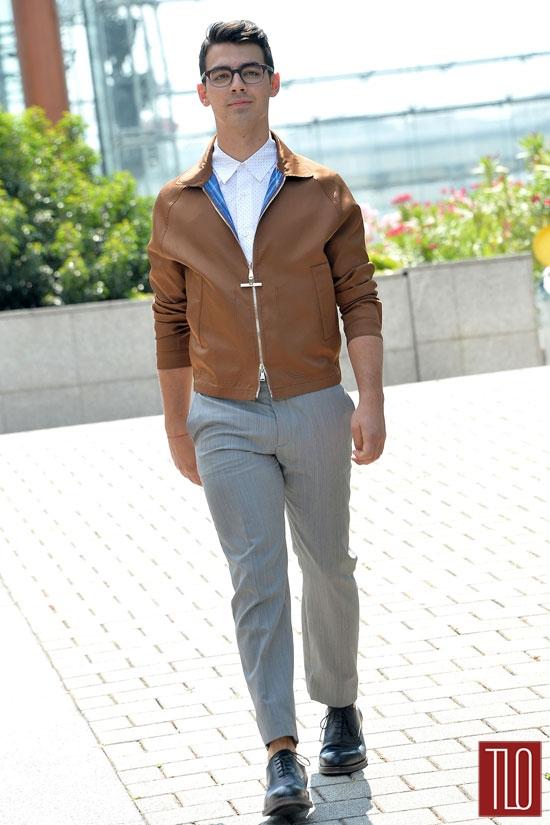 Joe Jonas Paris Fashion Week