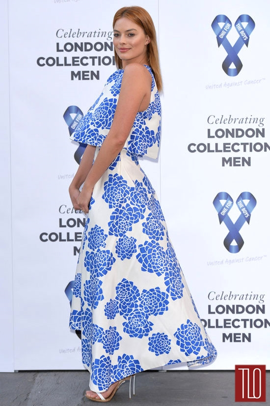 Margot Robbie in Vionnet at the One For The Boys Charity Ball ...truboymodel robbie