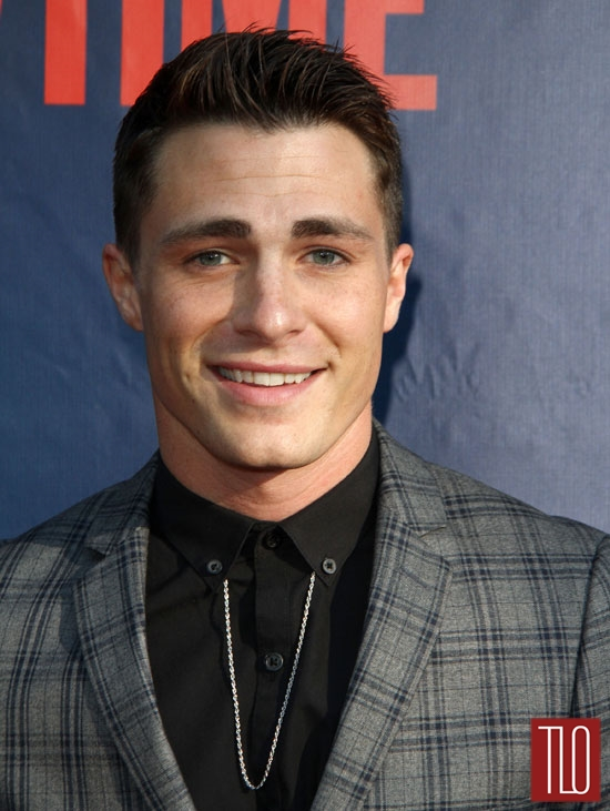 Colton Haynes at the 2014 CBS, CW and Showtime Press Tour ...