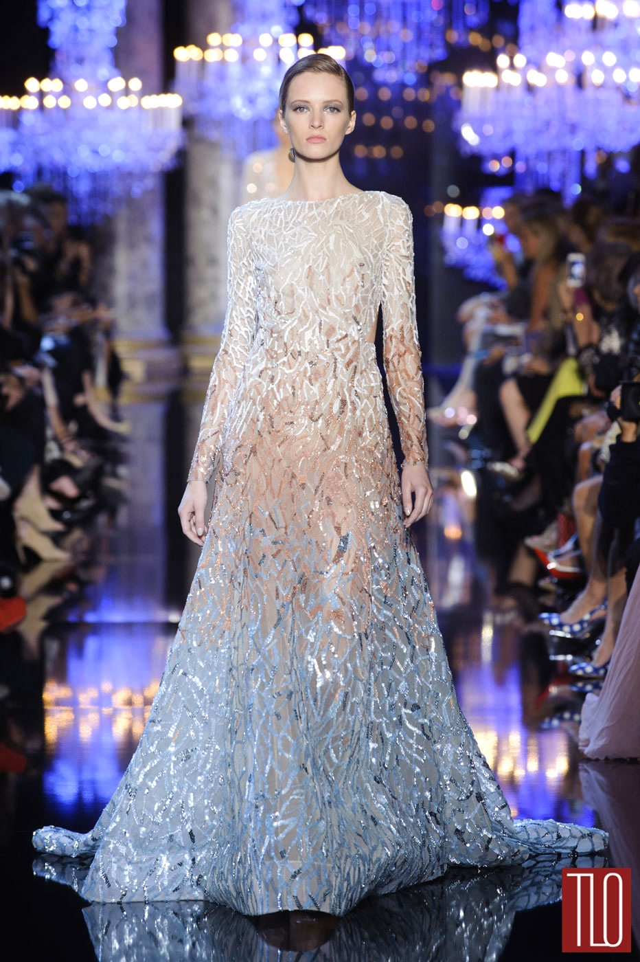 Elie Saab Fall 2014 Couture Collection | Tom + Lorenzo