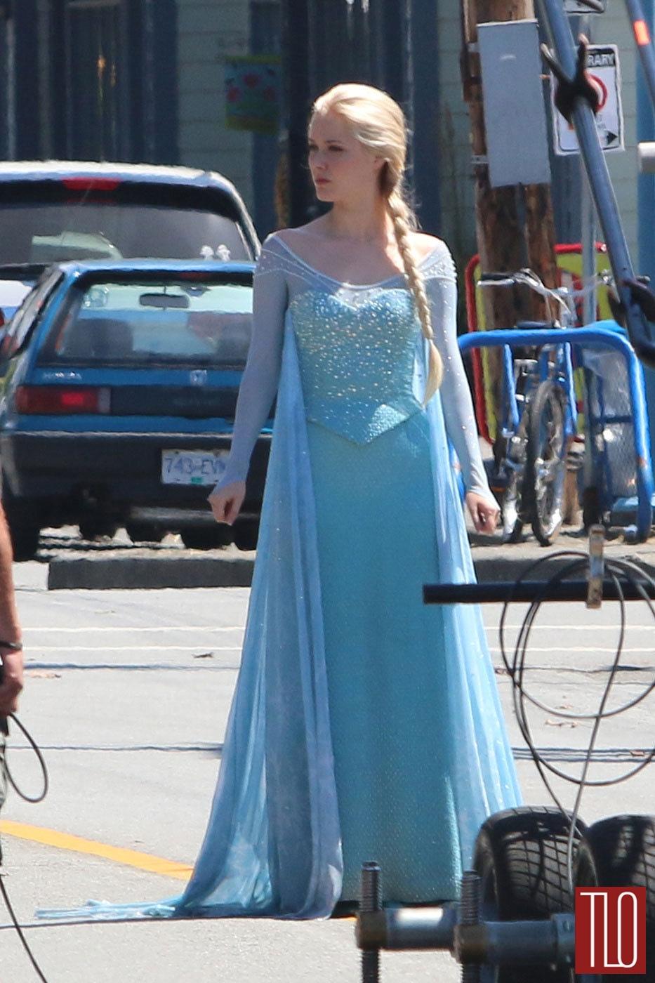 Georgina Haig Princess Elsa Frozen Once Upon A