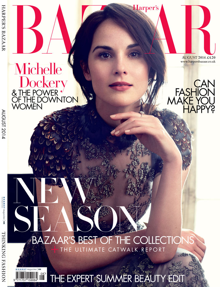 Harper-Bazaar-UK-August-2014-Downton-Abbey-Magazine-Editorials-Laura-Carmichael-Michelle-Dockery-Lily-James-Tom-Lorenzo-Site-TLO (5)