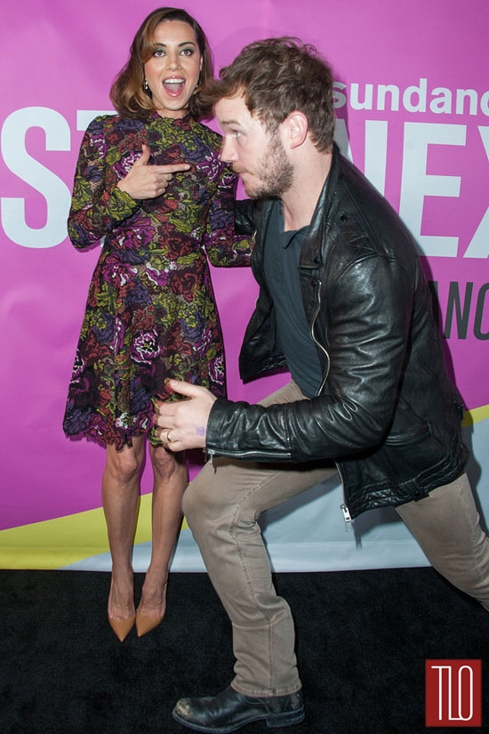 Aubrey-Plaza-Chris-Pratt-Valentino-Life-After-Beth-Movie-Premiere-Red-Carpet-Tom-Lorenzo-Site-TLO (7)