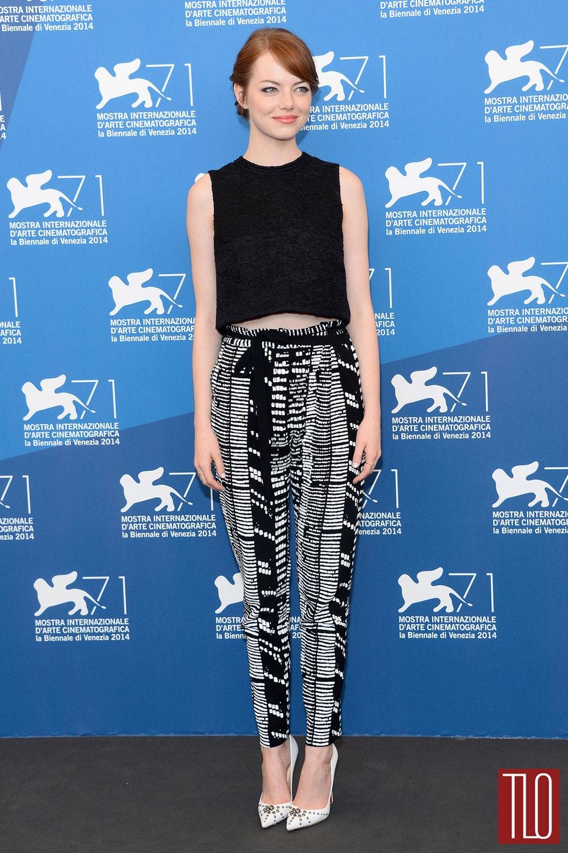 Emma stone style double shot tom lorenzo for Tile fashion