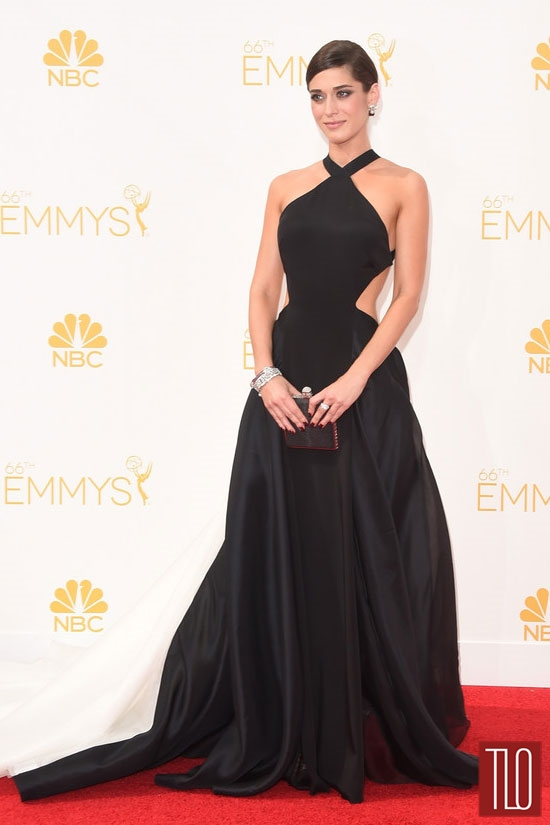 Emmys 2014: Everyone Wants to Be... Lizzy Caplan in Donna Karan ...