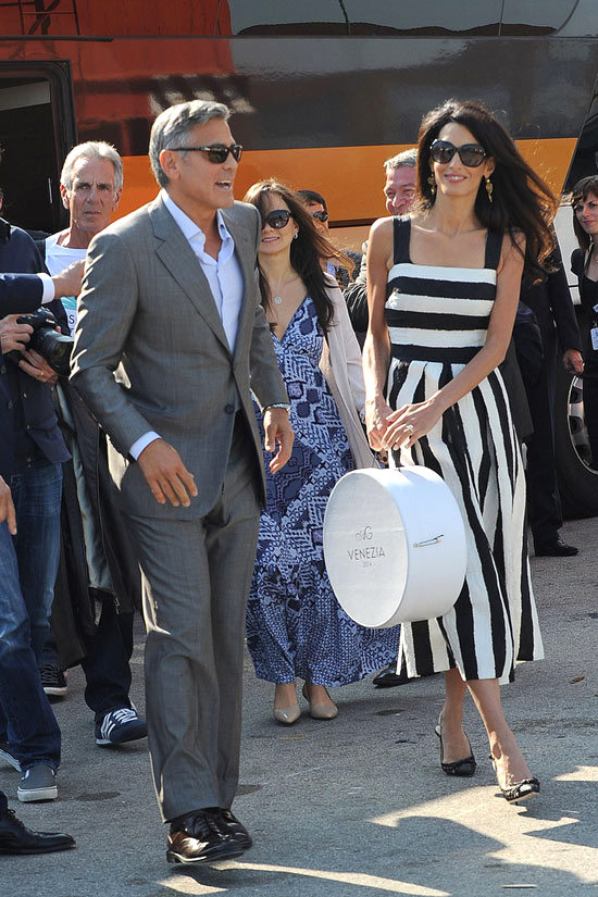George Clooney and Amal Alamuddin Get Married, Part Three