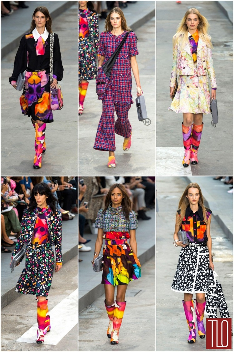 Chanel Spring 2015 Collection | Tom + Lorenzo