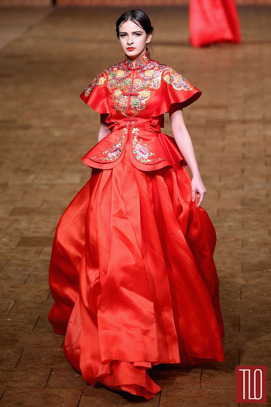 China-Fashion-Week-Spring -2015-Zhan-Zhifeng (6)