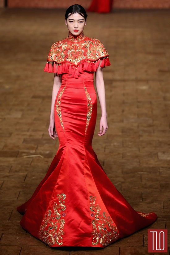 China-Fashion-Week-Spring -2015-Zhan-Zhifeng (9)