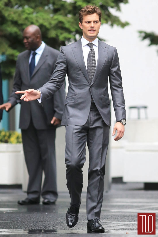 "Jamie Dornan Films ""Fifty Shades Of Grey"" Reshoots 
