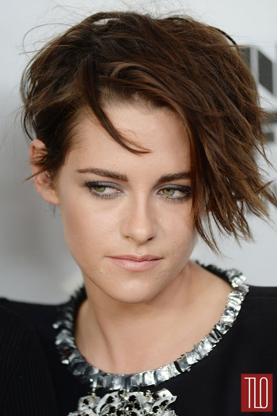 """Kristen Stewart in Chanel Couture at """"Clouds of Sils Maria"""" NY Screeening 