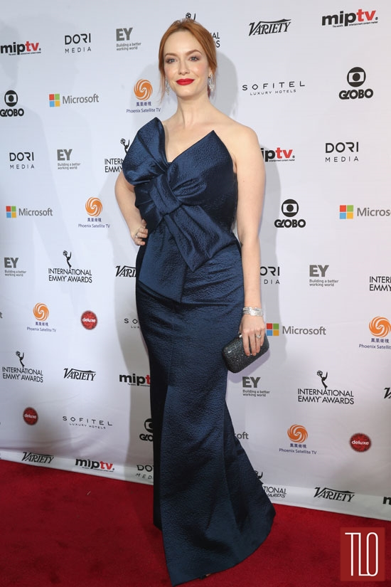 Christina-Hendricks-International-Emmy-Awards-2014-Red-Carpet-Fashion-Paule-Ka-Mad-Men-Tom-Lorenzo-Site-TLO (2)