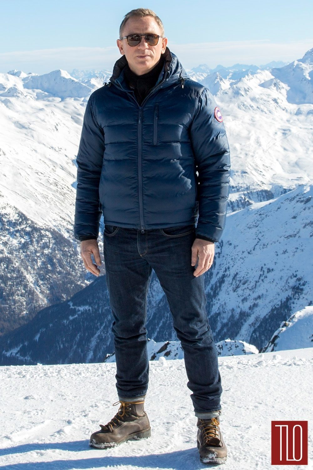"Canada Goose kids outlet shop - Daniel Craig in Canada Goose at the ""Spectre"" Austria Photo Call ..."