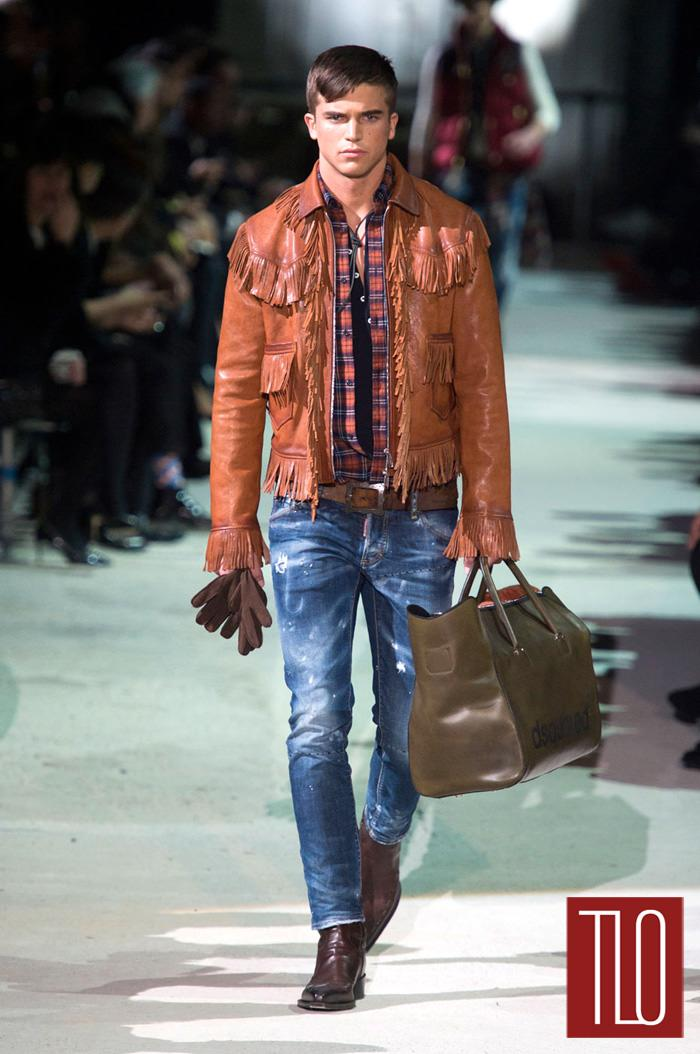 2015 Fall Winter 2016 Fashion Trends For Teens: Dsquared2 Fall 2015 Menswear Collection
