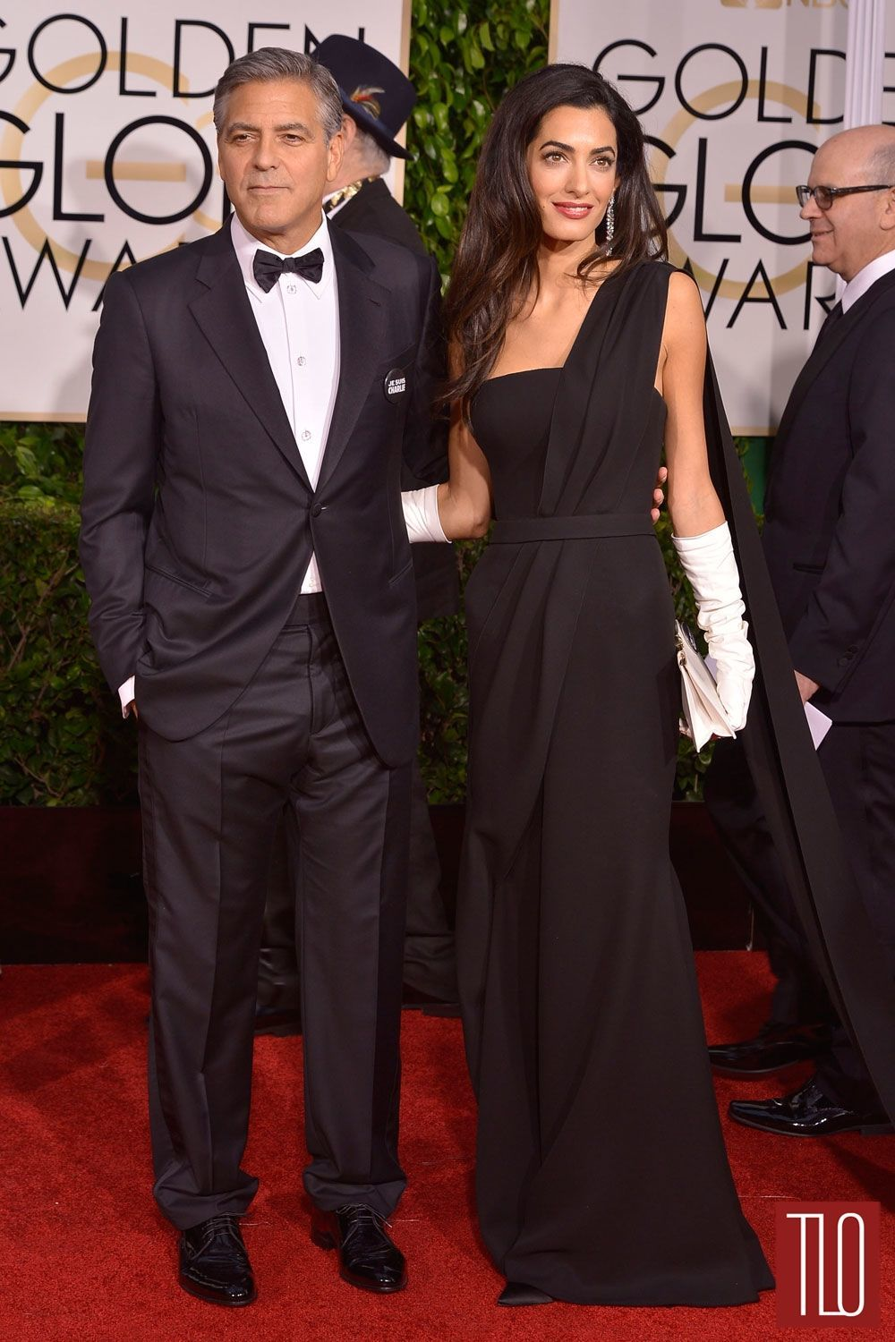 Golden Globes 2015: George Clooney in Armani and Amal ...