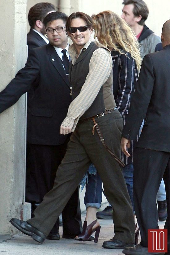 Johnny-Depp-Amber-Heard-Jimmy-Kimmel-Live-TV-Style-Fashion-Tom-Lorenzo-Site-TLO (6)