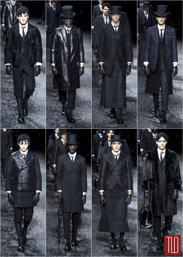Thom Browne Fall 2015 Menswear Collection