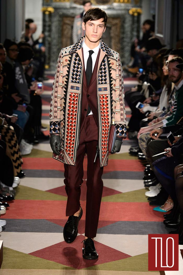 2015 Fall Winter 2016 Fashion Trends For Teens: Valentino Fall 2015 Menswear Collection