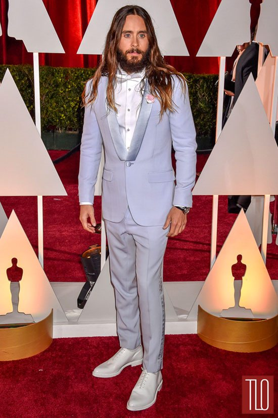 Jared Leto In Givenchy At The Oscars Tom Lorenzo