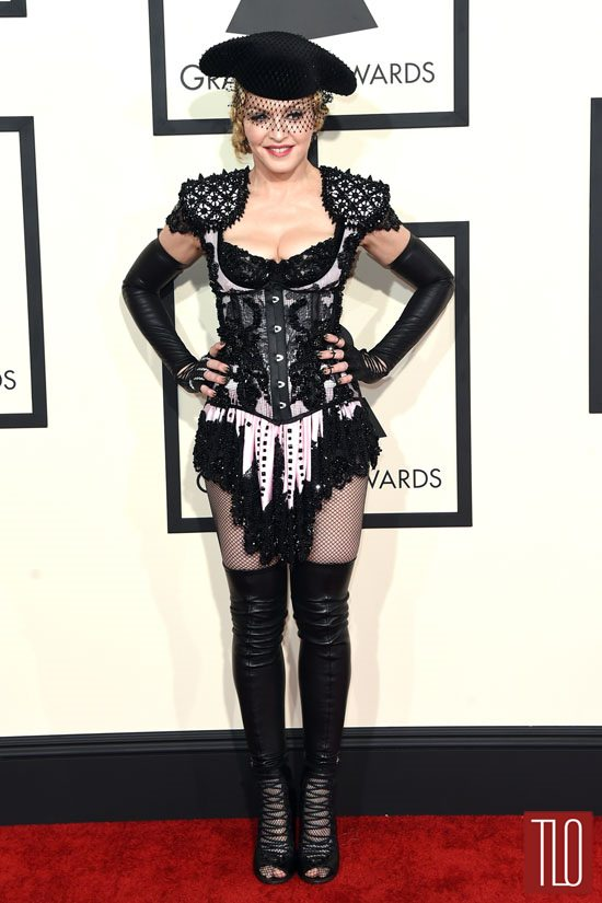 Madonna-2015-Grammy-Awards-Red-Carpet-Fashion-Givenchy-Couture-Tom-Lorenzo-Site-TLO (2)
