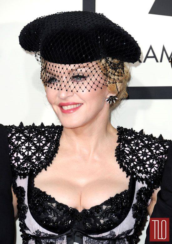 Madonna Grammys 2006 Madonna-2015-grammy-awards-red