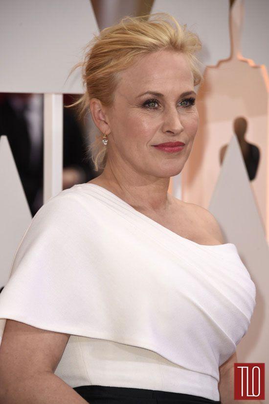 Patricia Arquette In Rosetta Getty At The Oscars Tom