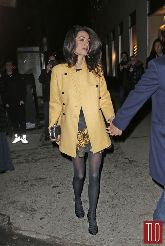 George Clooney And Amal Clooney In New York City Tom