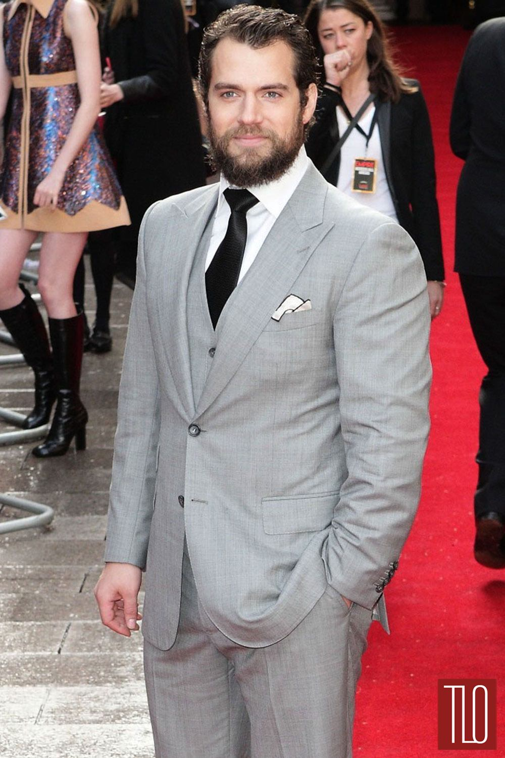 Henry Cavill in Tom Ford at
