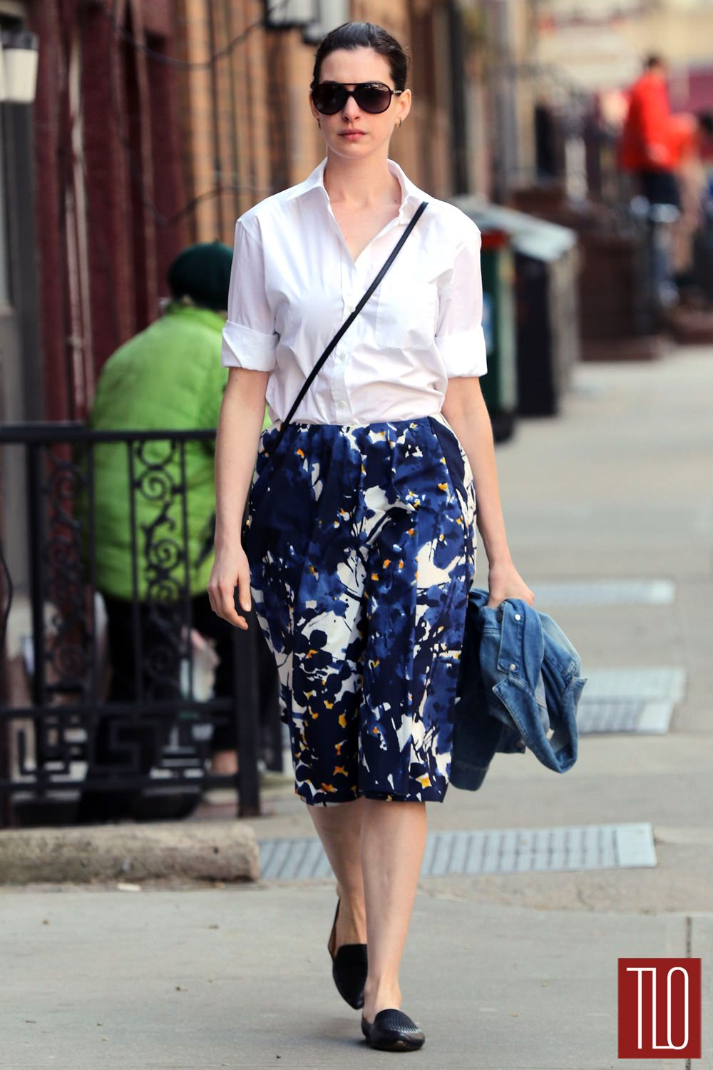 Anne Hathaway Out And About In The East Village Tom