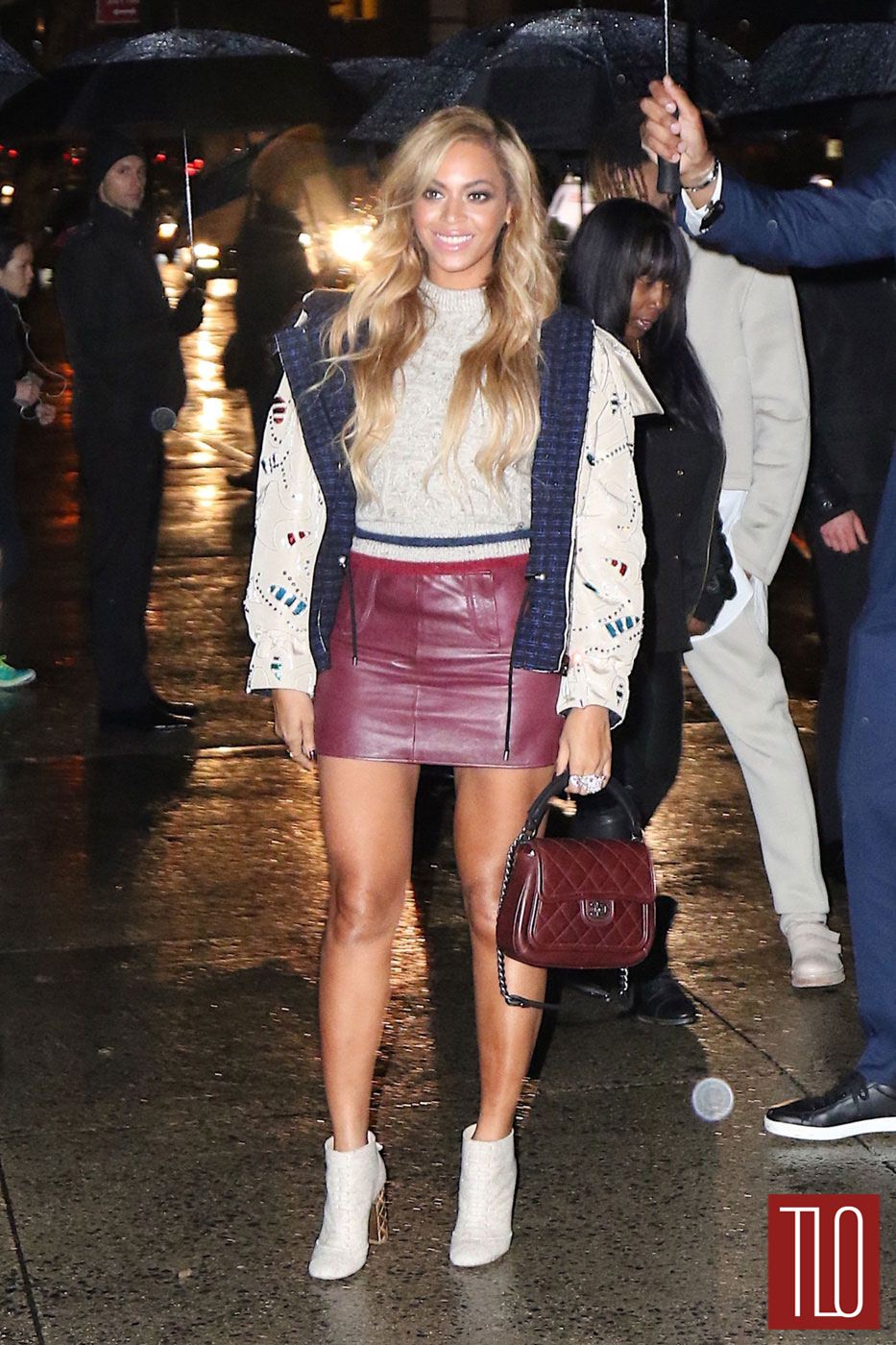 Beyonce in Chanel in New York City