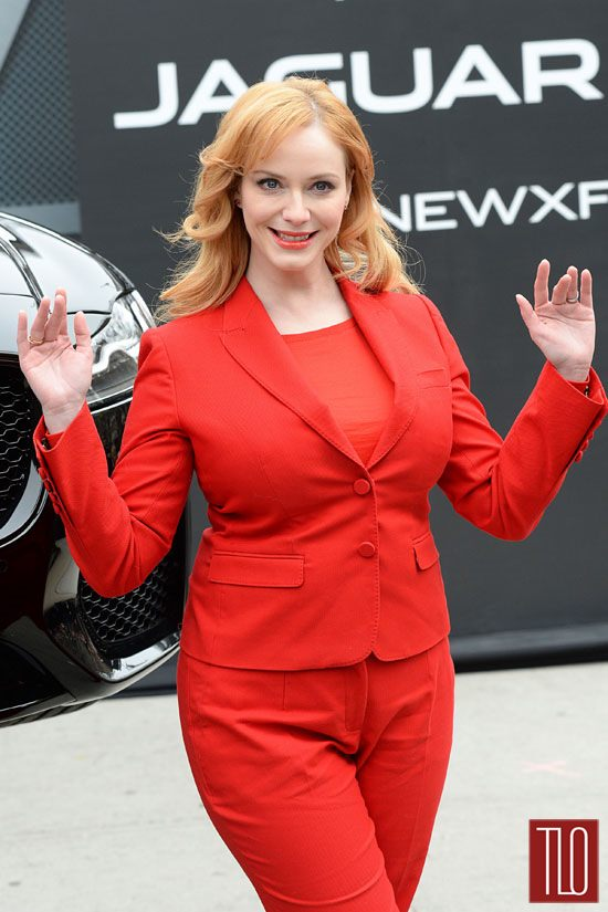 Christina Hendricks jaguar