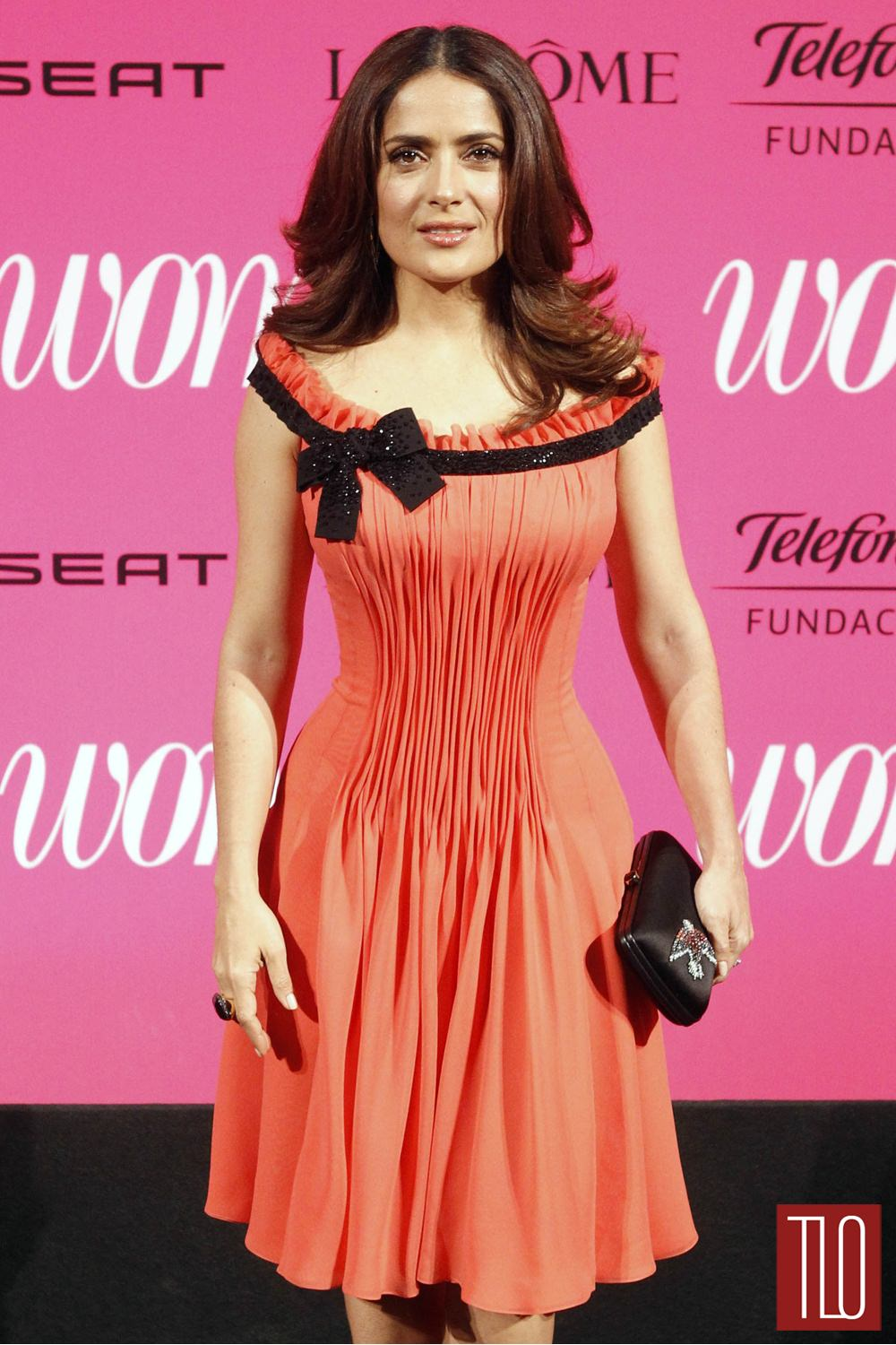 Salma Hayek at the 2015 Woman Magazine Awards