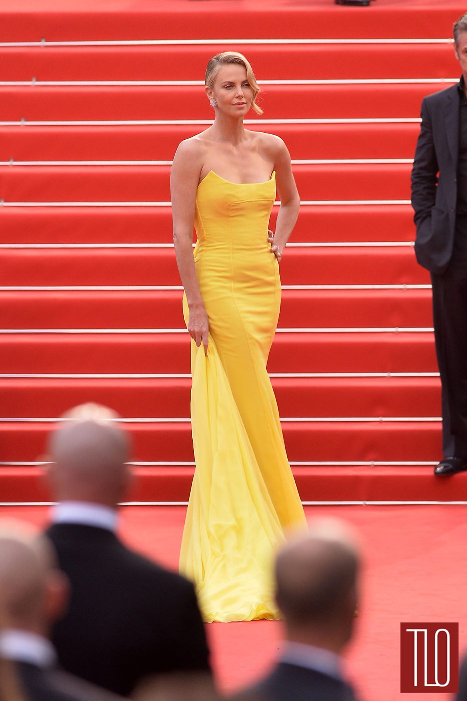 cannes  charlize theron  christian dior couture tom lorenzo