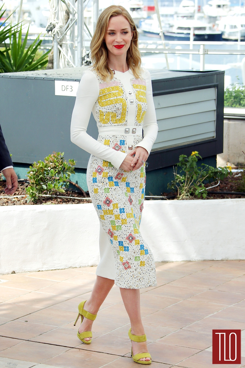 Cannes 2015 Emily Blunt In Peter Pilotto And Stella
