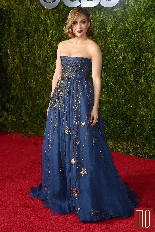 Tony Awards 2015 Jennifer Lopez In Valentino Couture Tom Lorenzo