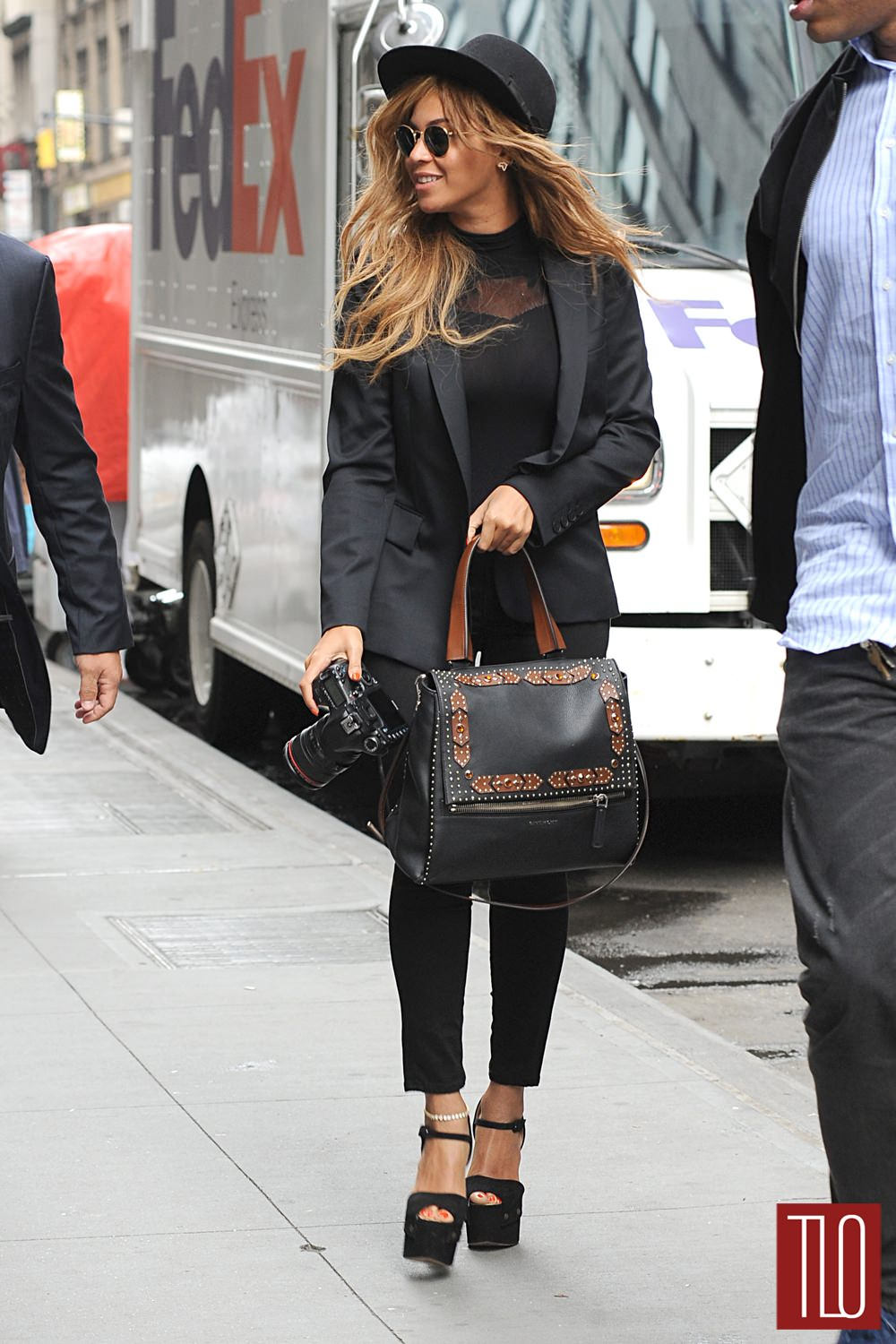 Beyonce In New York City Tom Lorenzo