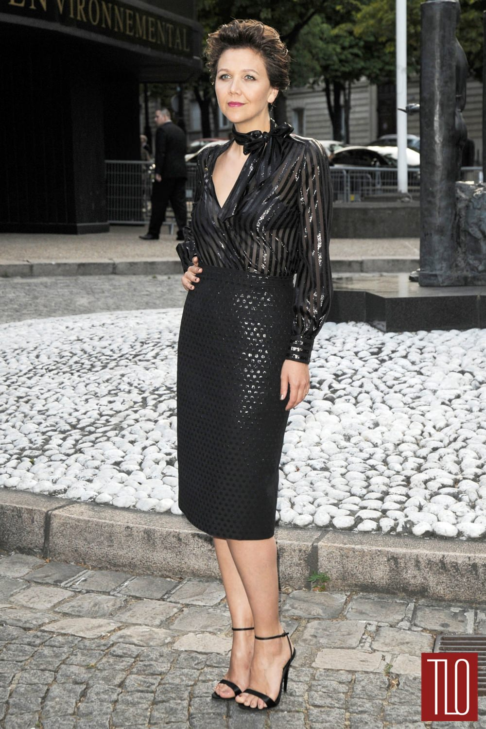 What Race Is Rita Ora >> Maggie Gyllenhaal at Miu Miu Fragrance Launch Event | Tom + Lorenzo