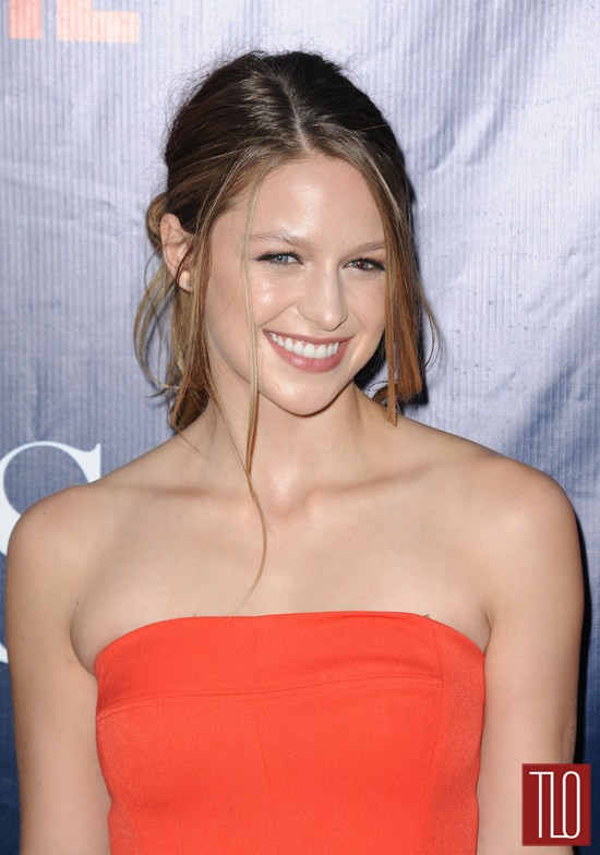 melissa benoist in black halo at the cbs cw and showtime 2015 summer tca party tom lorenzo. Black Bedroom Furniture Sets. Home Design Ideas
