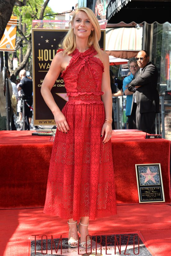 Claire Danes Honored With Star On The Hollywood Walk Of