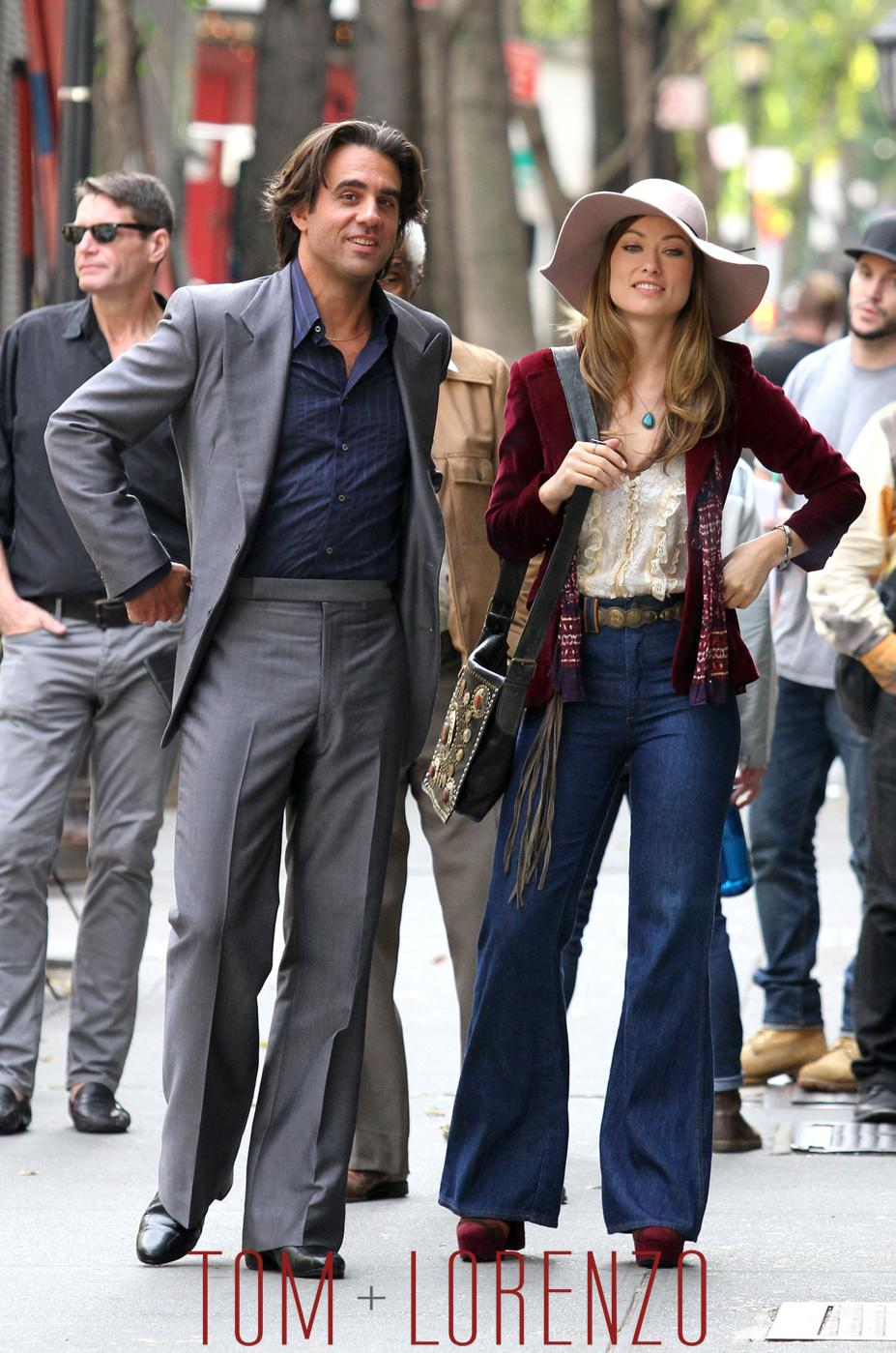 Bobby Cannavale And Olivia Wilde On The Set Of Quot Vinyl