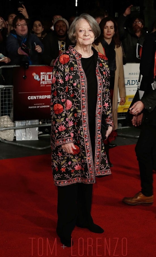Maggie-Smith-The-Lady-In-Van-London-Premiere-Tom-Lorenzo-Site (5)