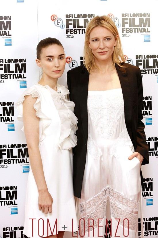 Rooney-Mara-Cate-Blanchett-Carol-BFI-Photocall-Giambattista-Valli-Givenchy-Tom-Lorenzo-Site (6)